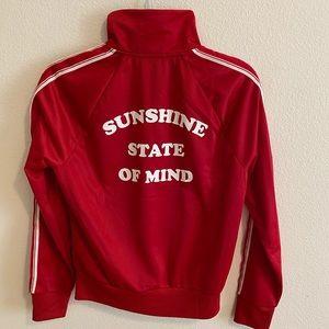 Forever21 Red Varsity-Style Jacket